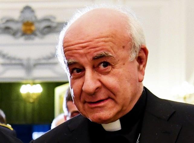 Foto: mons. Vincenzo Paglia attuale presidente della Pontificia Accademia per la Vita