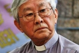 """Card. Zen: Fratelli cattolici cinesi, """"tornate alle catacombe. Il comunismo non è eterno""""."""