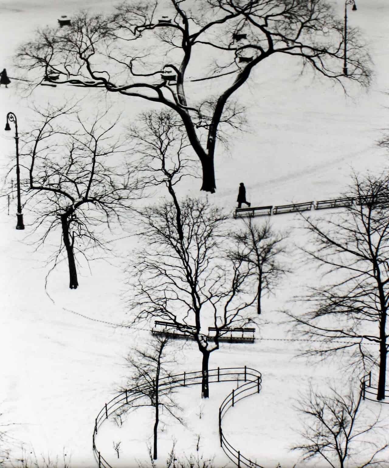 foto: André Kertész, Washington Square. New York. USA (1954)