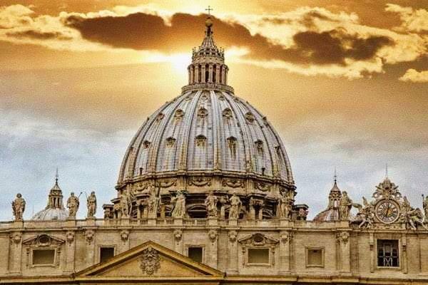 Foto: cupola della basilica di San Pietro a Roma
