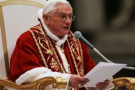 """Benedetto XVI: """"la più grande persecuzione della Chiesa non viene dai nemici fuori, ma nasce dal peccato nella Chiesa"""""""