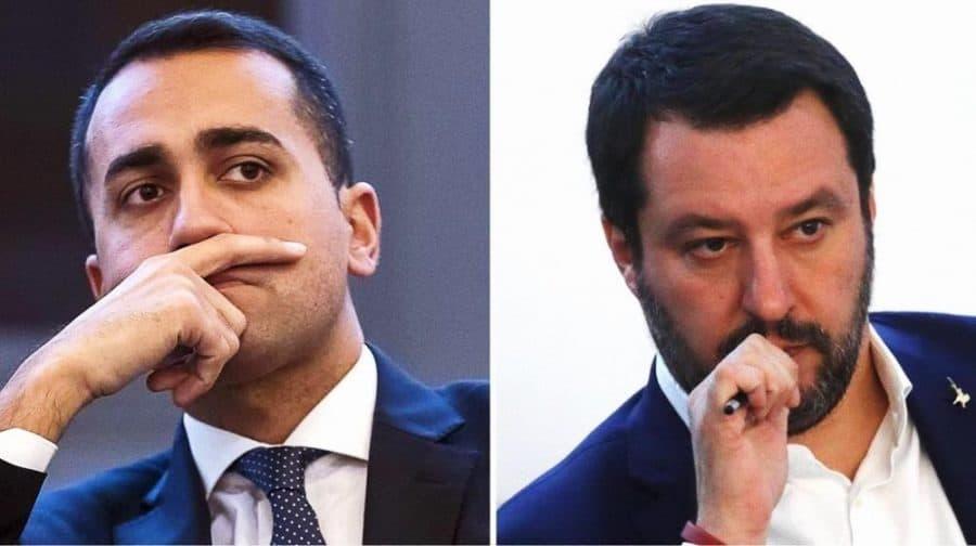Foto: Di Maio e Salvini