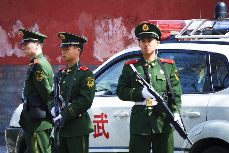 Foto: soldati cinesi