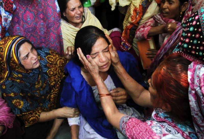 Foto: donne cristiane pakistane