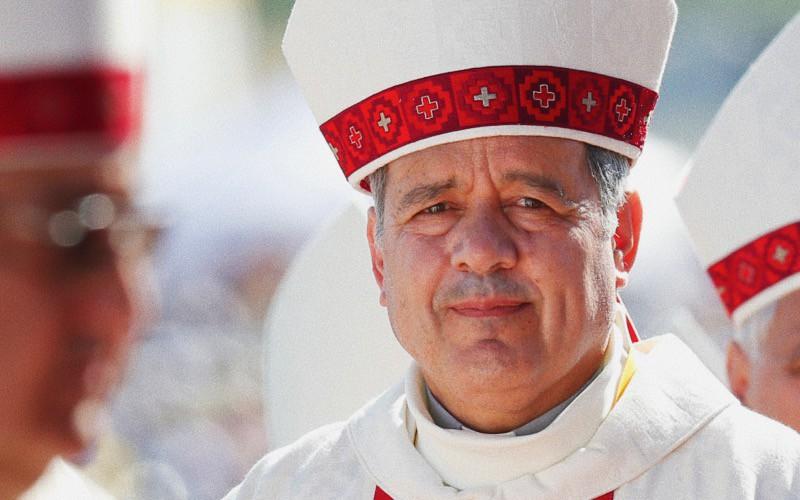 Foto: vescovo cileno Barros
