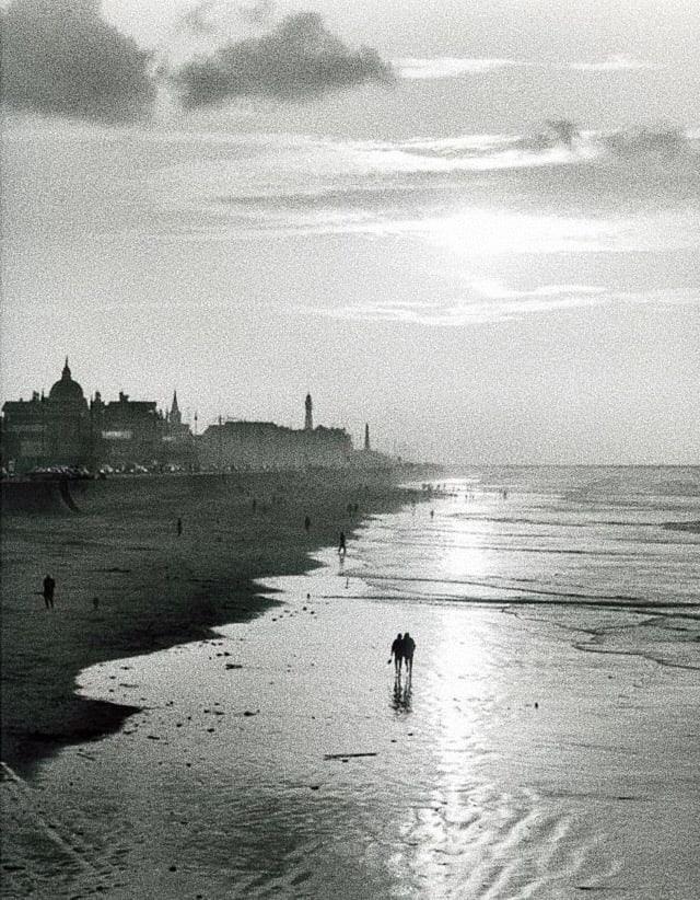 Foto: Kees Scherer, Scheveningen beach, 1957