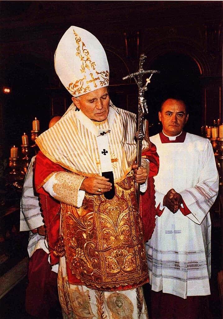 Foto: papa San Giovanni Paolo II