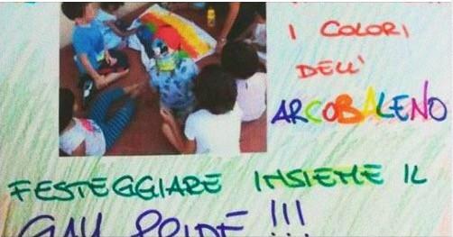 Foto: asilo gestito dalla Coop. Dolce a Casalecchio di Reno