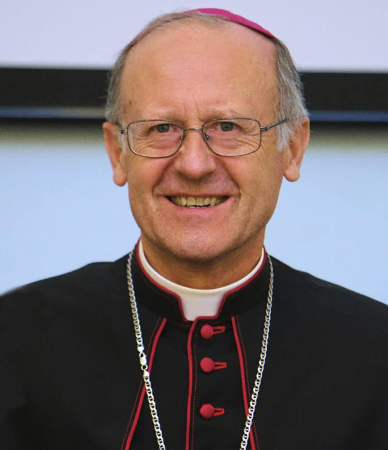 Foto. mons. Tommaso Ghirelli, vescovo di Imola.
