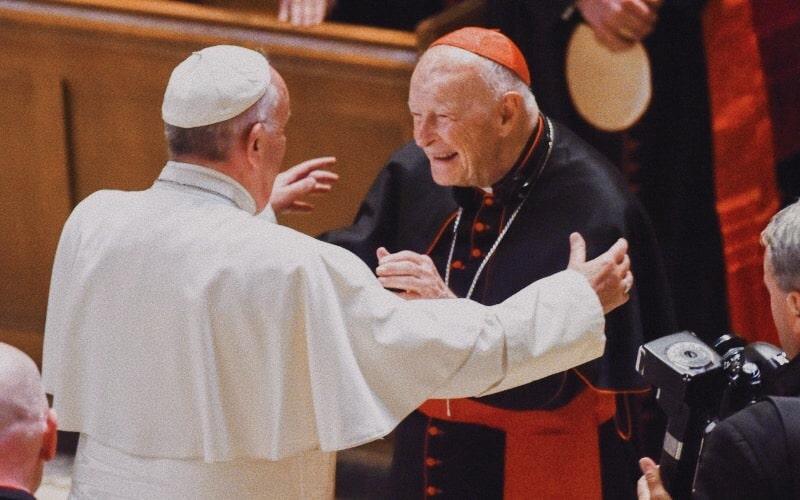 Popa Francesco incontra l'ex card. McCarrick