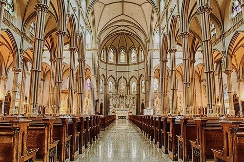Foto: cattedrale di San Paolo a Pittsburgh in Pennsylvania