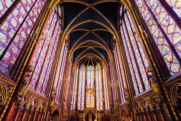 foto: Sainte-Chapelle a Parigi