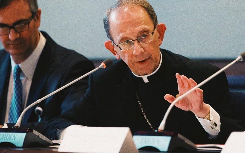 Foto: il vescovo Lawrence Persico