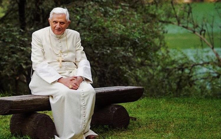 Foto: papa emerito Benedetto XVI