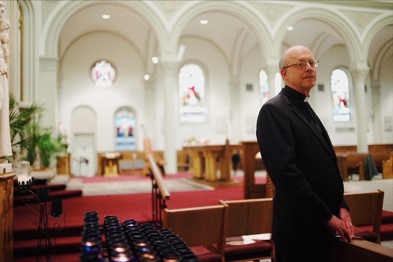 Padre Bonifacio Ramsey (Ozier Muhammad/The New York Times)