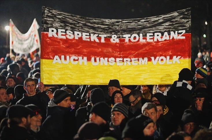 Foto: Germania, dimostrazioni anti immigrazione