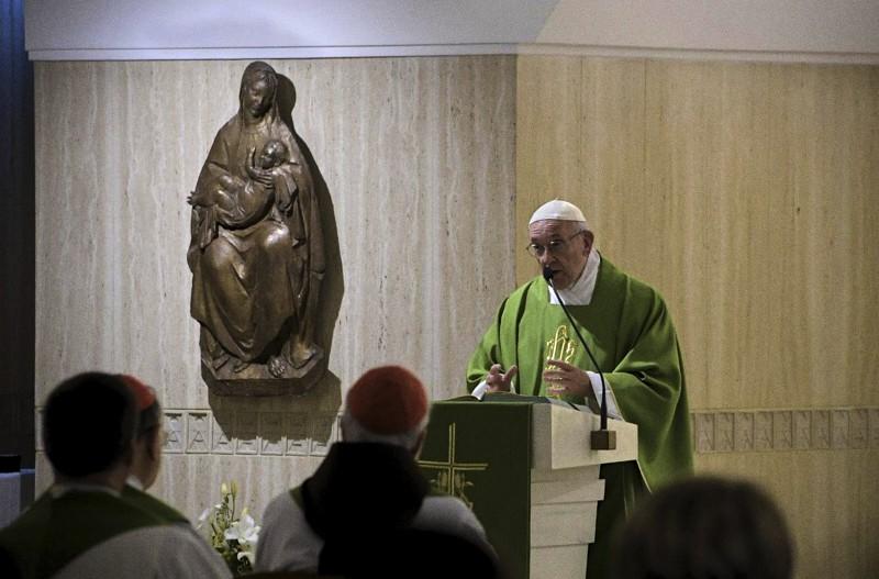 Foto: messa a Santa Marta del 11.09.2018 (Vatican Media)