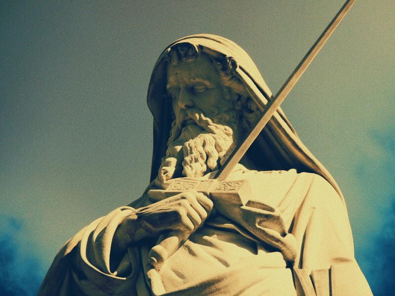 Foto: statua di San Paolo