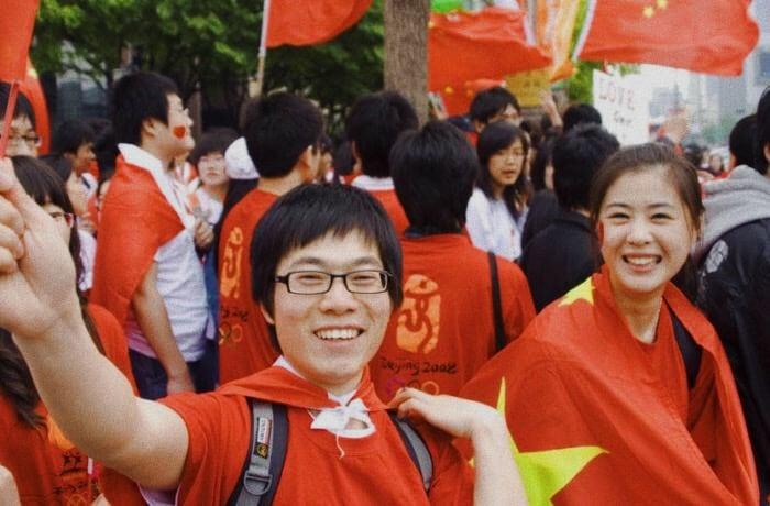 Foto: giovani cinesi