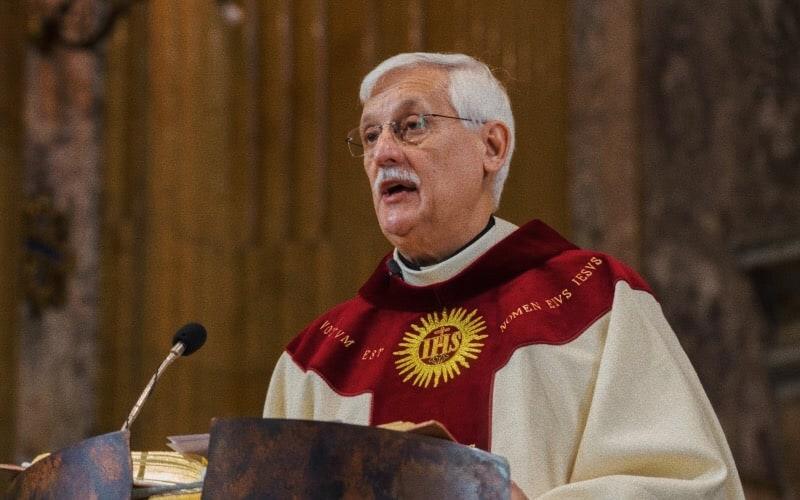 Padre Arturo Sosa Abascal, superiore generale dei Gesuiti (foto CNS via Catholic Herald)