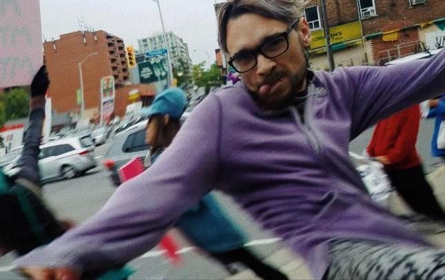 Foto: l'uomo che ha assalito foto: Marie-Claire Bissonnette