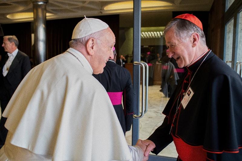 foto: Papa Francesco ed il Card. Blase Cupich della arcidiocesi di Chicago