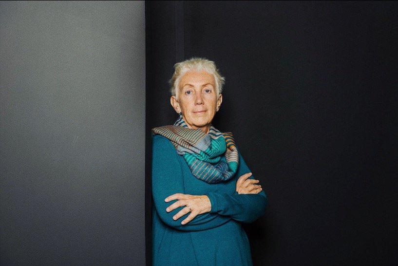 Lucetta Scarrafia (foto Katrina Strek/ITEM, via The New Yorker Today)