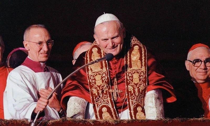 Foto: il giorno della elezione di Giovanni Paolo II, 16 ottobre 1978