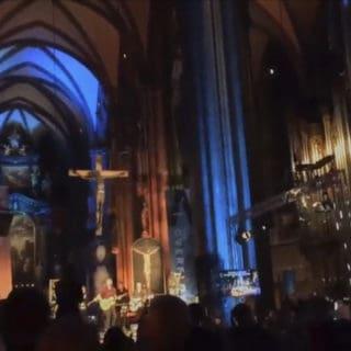 Concerto rock nella cattedrale di Santo Stefano a Vienna?
