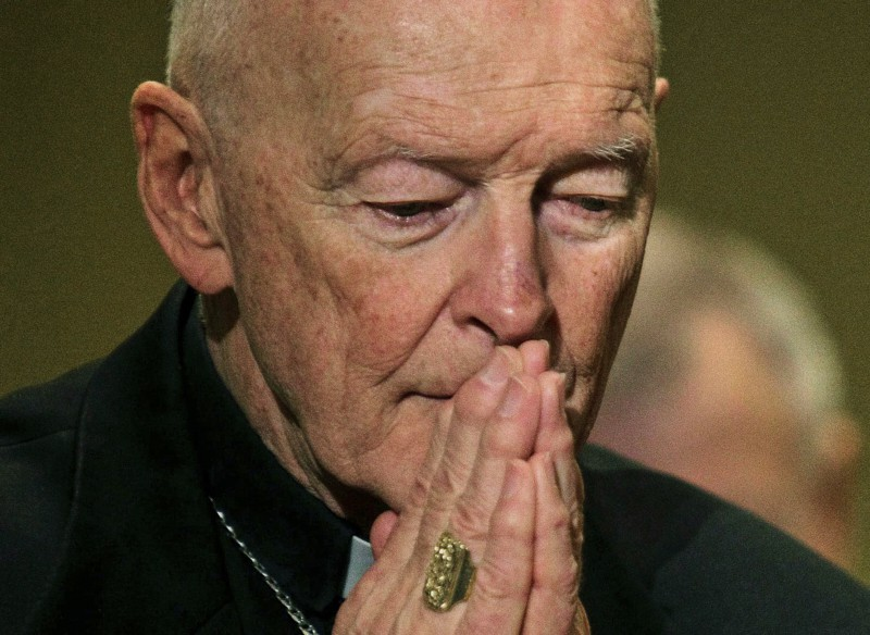 foto: ex Card. Theodore McCarrick (AP Photo/Patrick Semansky - via The Washington Post)