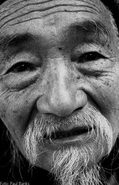 Foto: anziano cinese