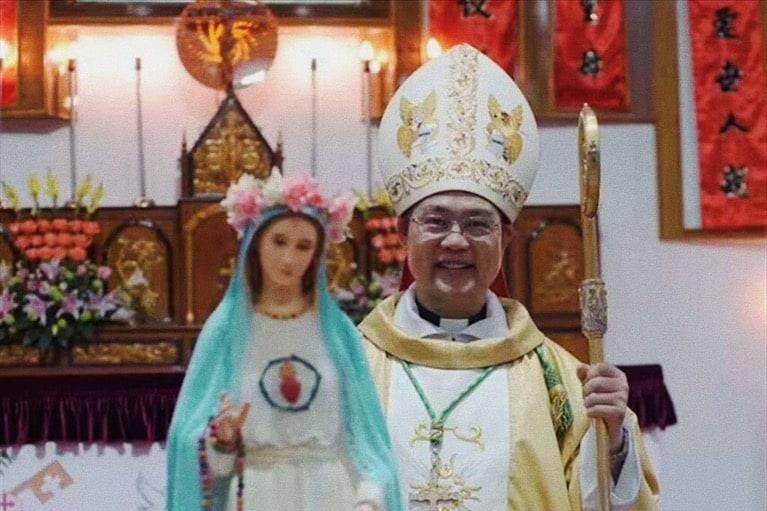 Il vescovo di Wenzhou (Zhejiang), mons. Pietro Shao Zhumin