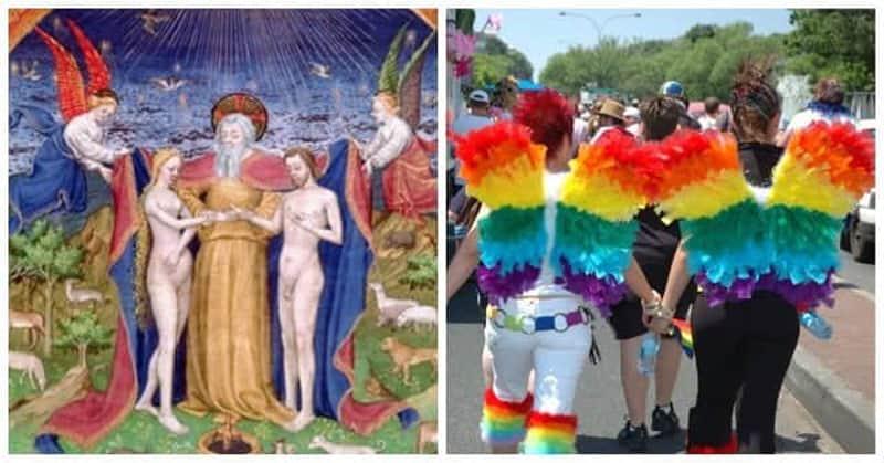foto la creazione ed espressione del movimento LGBT