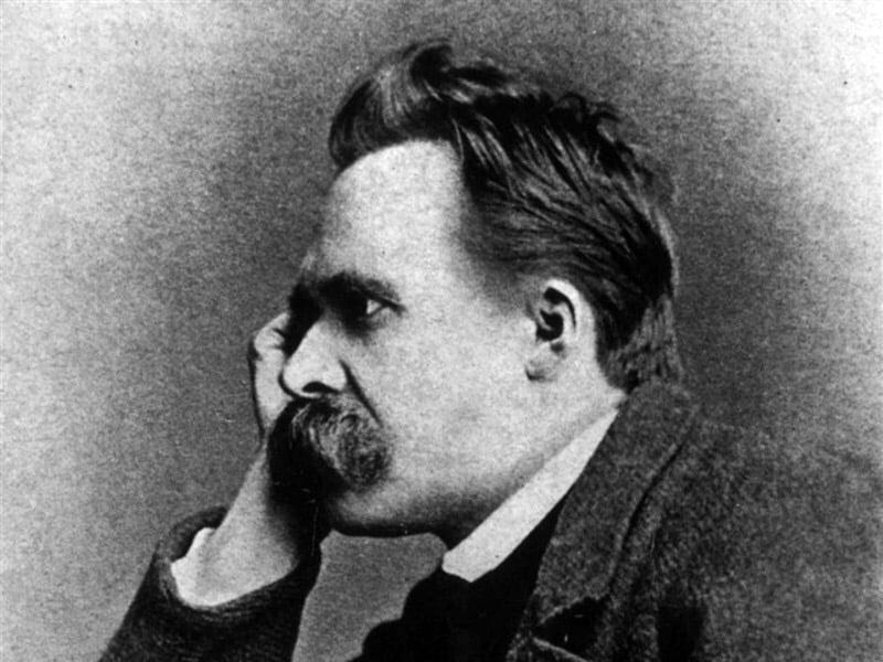 Foto: il filosofo Friedrich Nietzsche