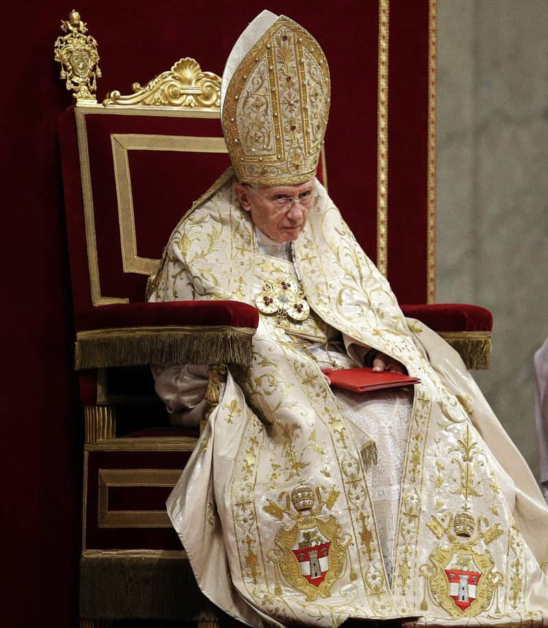 Papa Benedetto XVI al Te Deum del 31.12.2012