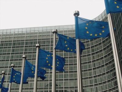 Parlamento Europeo e bandiera EU