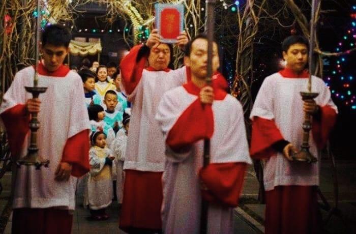 Foto: una processione cinese