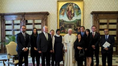 foto: papa Francesco in udienza delegazione Commissione internazionale contro la pena di morte (17.12.2018, da Vaticannews.va)