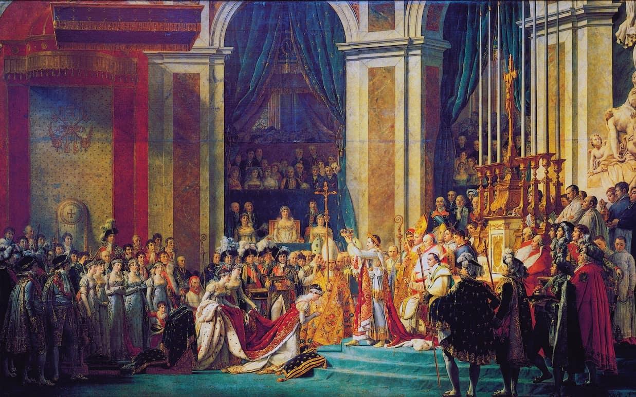 Incoronazione di Napoleone Bonaparte.