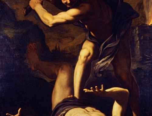 """""""Il Signore disse a Caino: """"Dov'è Abele, tuo fratello?"""". Egli rispose: """"Non lo so. Sono forse il guardiano di mio fratello?"""""""