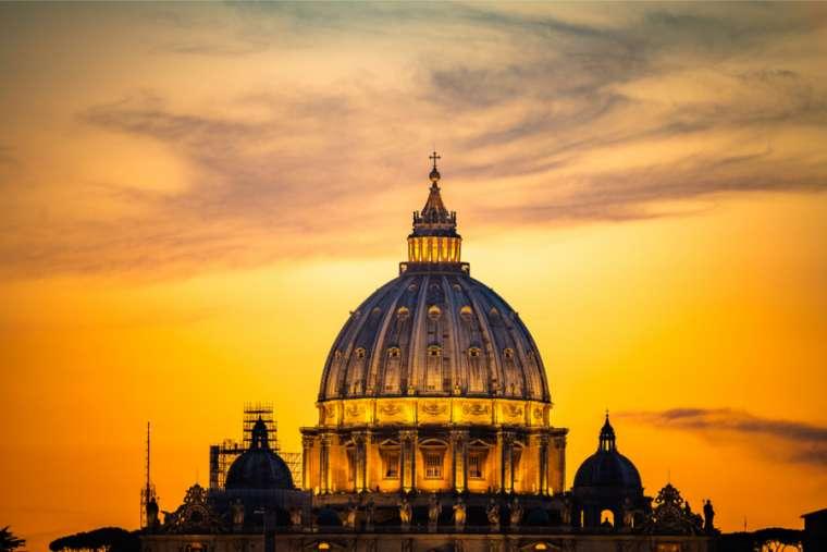 Basilica di San Pietro, Citta del Vaticano, Credit: Shutterstock (via CNA)