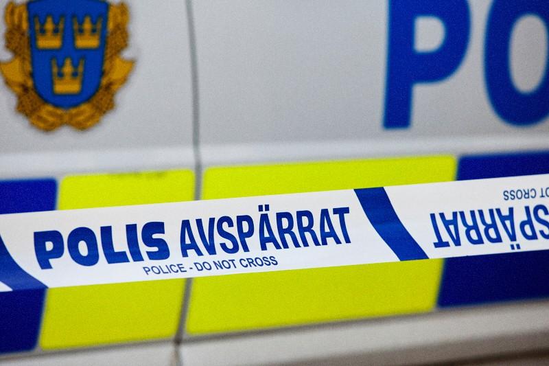 Polizia all'opera in Svezia