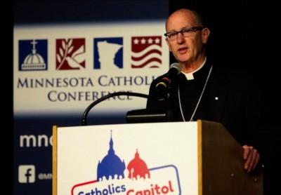 Il vescovo James Conley, vescovo di Lincoln, Nebraska (Foto CNS)