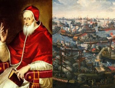 San Pio V e la Battaglia di Lepanto del 1571