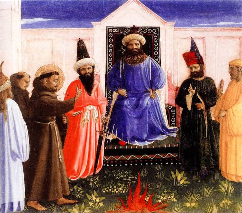 San Francesco incontra il Sultano (Beato Angelico)