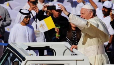Papa Francesco ad Abu Dabhi (Emirati Arabi Uniti)