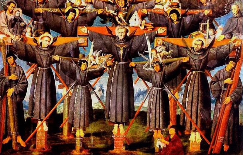 San Paolo Miki ed i suoi confratelli martirizzati (festa 6 febbraio)
