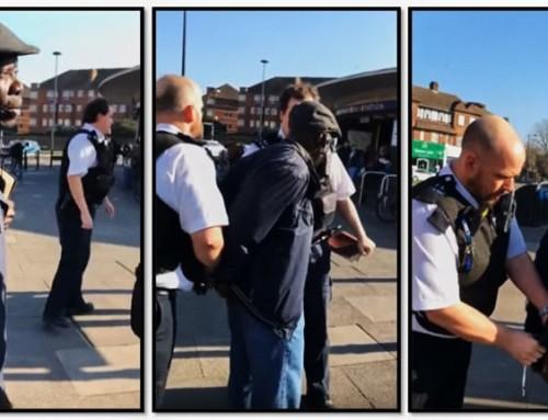 """Un video virale mostra un predicatore di strada in Inghilterra arrestato per presunto """"razzismo"""" mentre annuncia il Vangelo"""