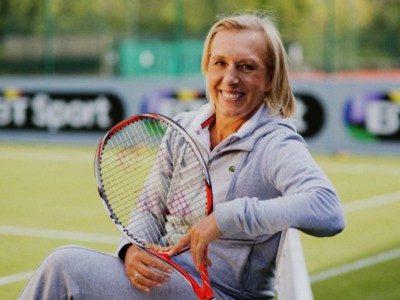 Martina Navratilova, tennista