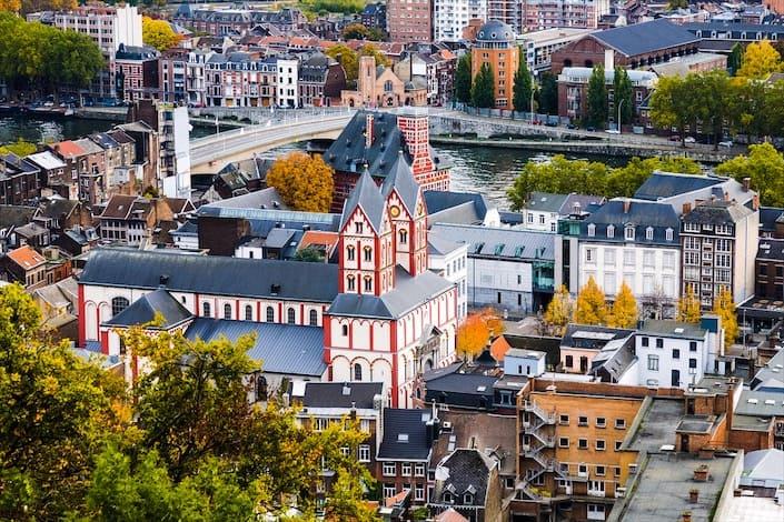 Nella foto: il centro della città di Liegi. (Fonte dell'immagine: iStock, via Gatestone)